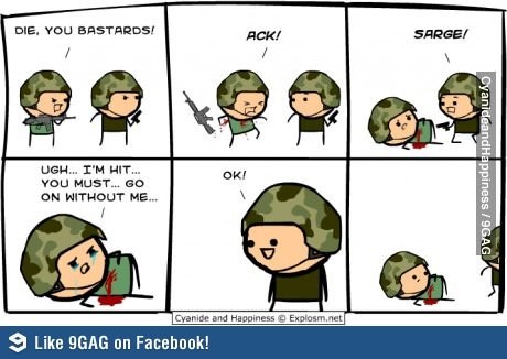 c2 - cyanide and happiness overload!