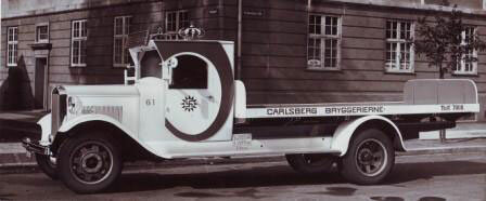 calsberg delivery truck