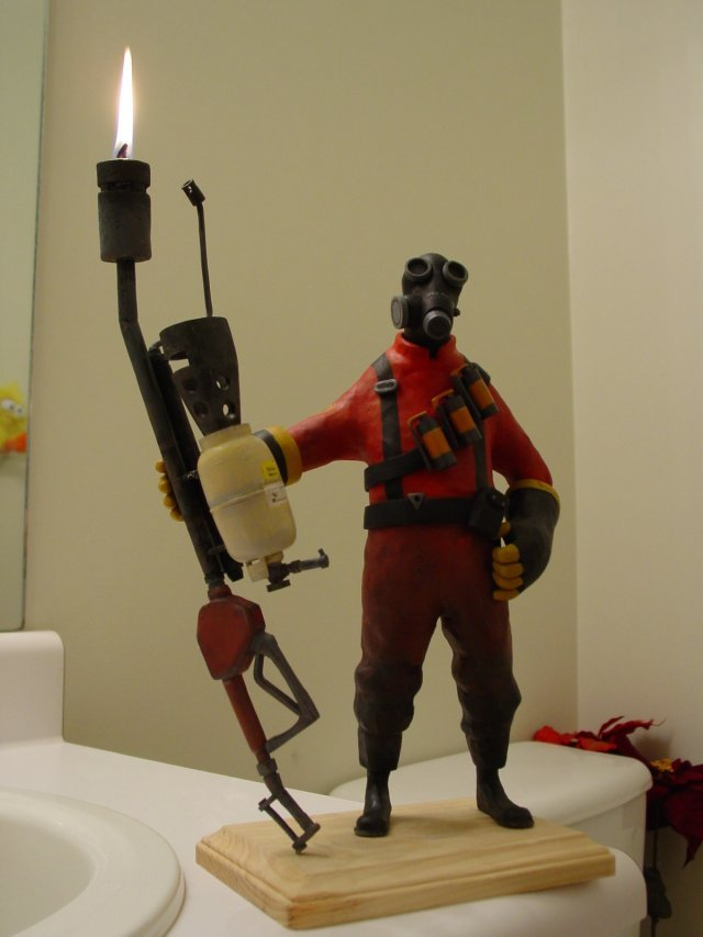 candle - team fortress candle