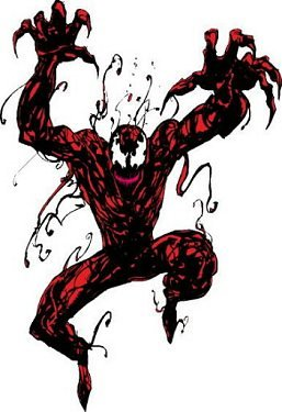 carnage - clash of the fictitious characters