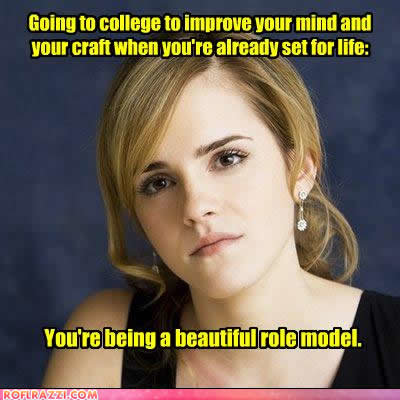 celebrity pictures emma watson role model