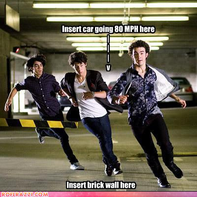 celebrity pictures jonas brothers brick wall