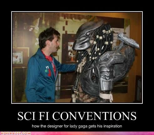 celebrity pictures predator scifi conventions
