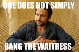charlie - one does not simply....