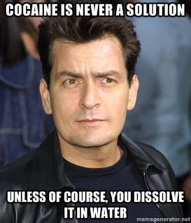 charlie sheen cocaine
