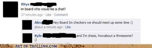 chatroulette trolling bored games