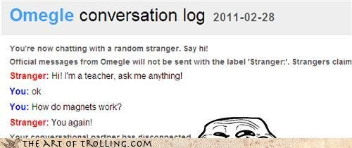 chatroulette trolling nope second troll long line many