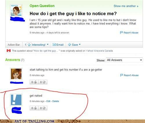 chatroulette trolling best way get someone noticw
