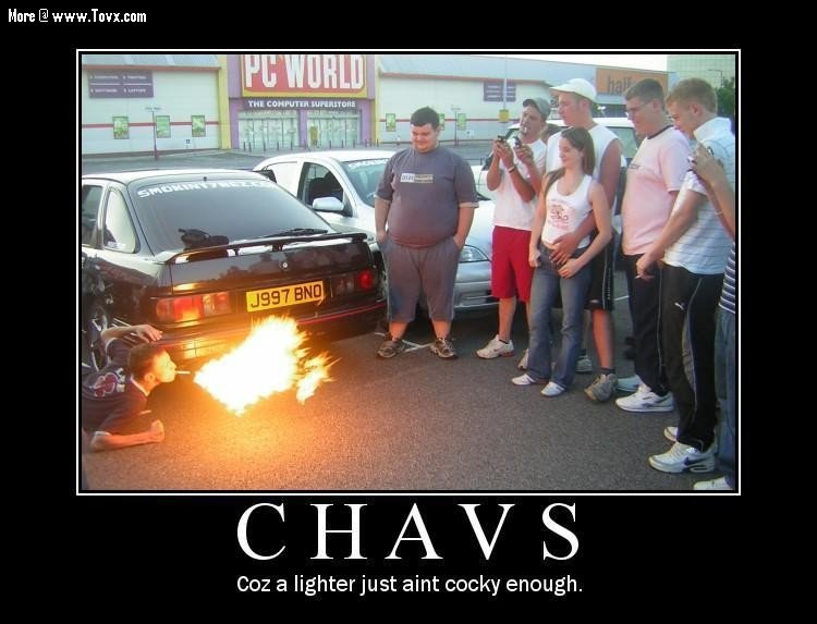 chavs - motivational posters... yes more