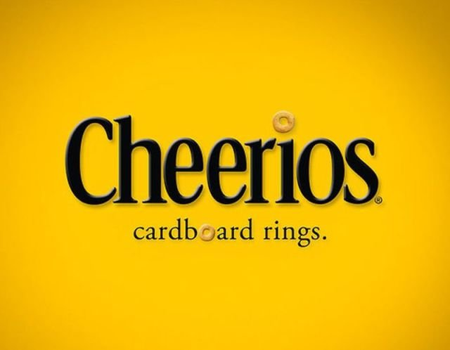 cheerios - if company logos would tell us truth