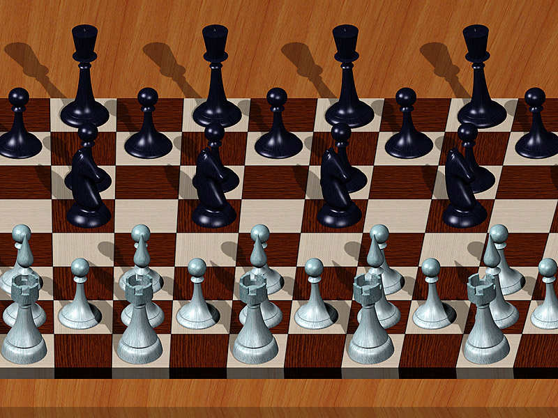 chess single image stereogram dimka