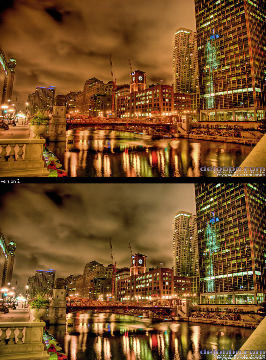chicagoriver hdr