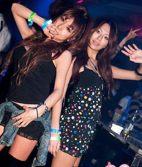 chinese youth partying