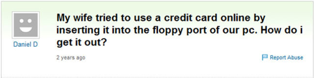 classic hilarious yahoo answers