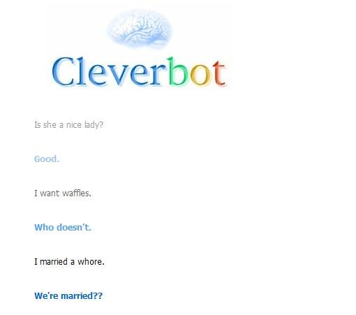 cleverbotfail2 - epic cleverbot fail