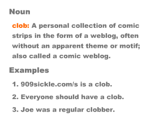 clob - more and more comics or #9 if your counting