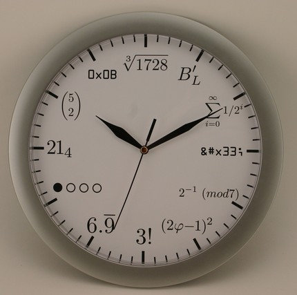 clock for geeks