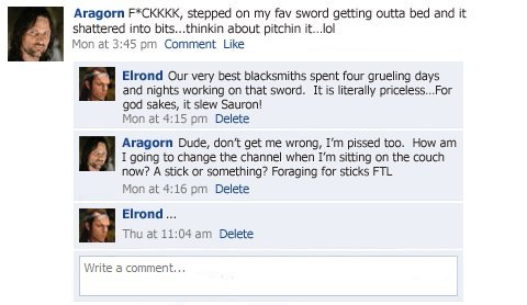 collegehumor11e402ca33612b2a5436c18361772064 - lord of the rings facebook status updates