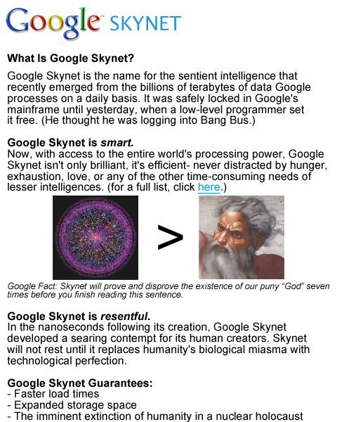 collegehumor455b291661f790f3bbbb34a4e5d13f58 - if google released skynet