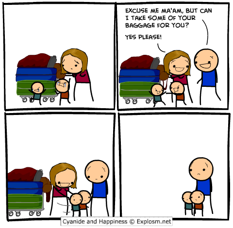 comicbaggage1 - 50 more cyanide & happiness comic's