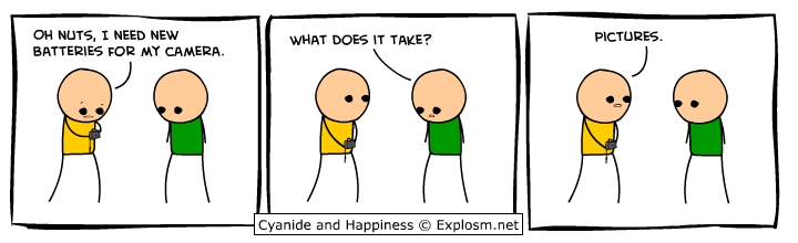 comicbatteriescamera - cyanide and happiness deluxe