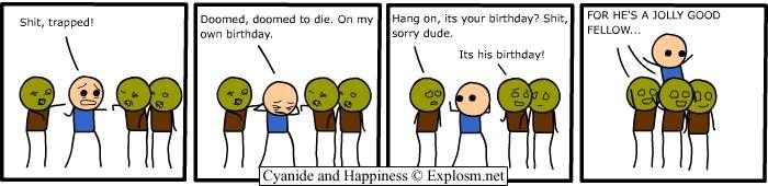 comicbday - cyanide and happiness collection six
