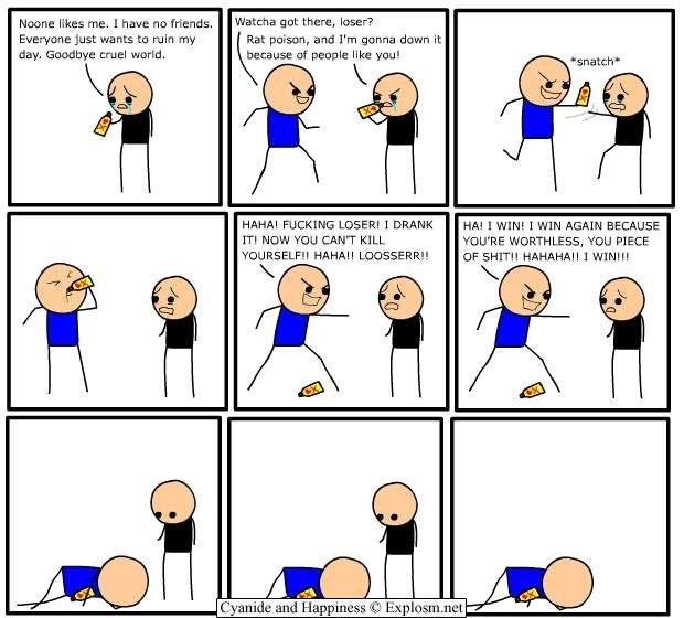 comicbullyroot - cyanide and happiness overload!!!