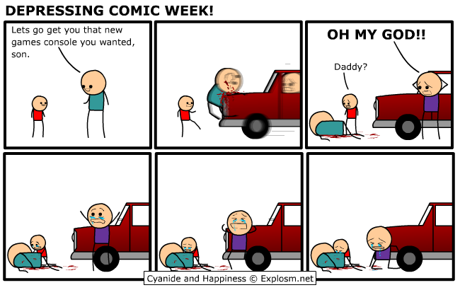 comicdepressing4 - cyanide and hapiness depressing comic week 1