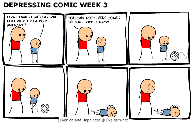 comicdepressingcomicweek3 - cyanide and happiness depressing comic week 3 + 1 extra