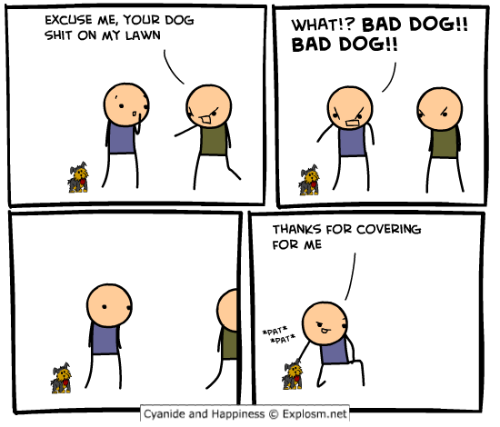 comicdoglawn1 - 50 more cyanide & happiness comic's
