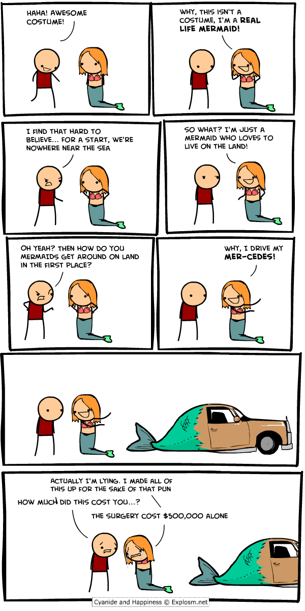 comicmermaid1 - 50 more cyanide & happiness comic's