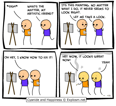comicpaintingwrong1 - funny