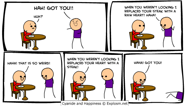 comicsteakreplace1 - cyanide & happiness!!