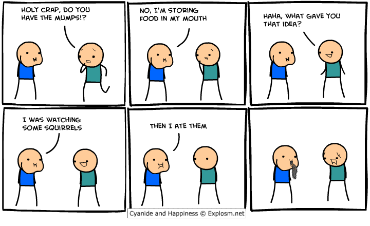 comicstoringfood1 - 50 more cyanide & happiness comic's