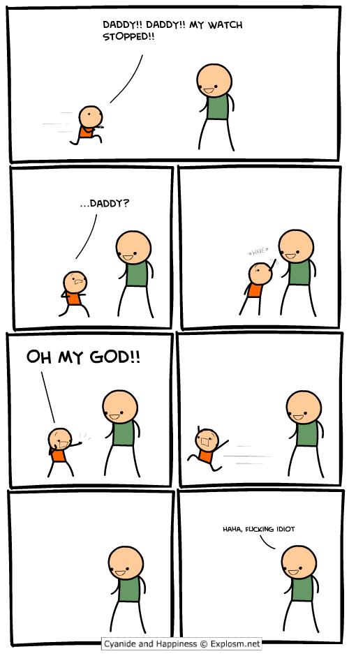 comicwatchedstopped1 - 19 cyanide and happiness
