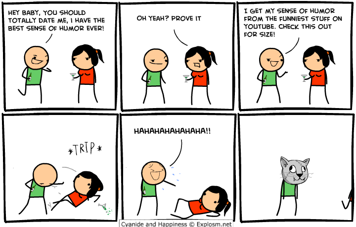 comicyoutubehumornew - a little c&h (and 8-bit theater)