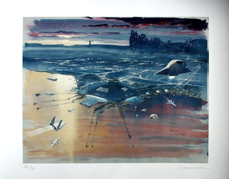 concept art from fifth element