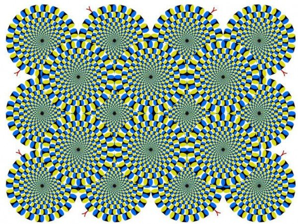 confuse your depth perception
