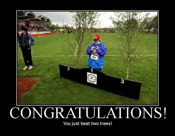 congratulations beat two trees