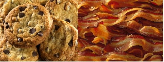 cookie bacon