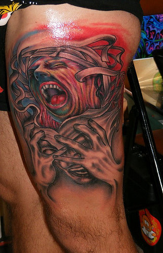 crazy tattoo