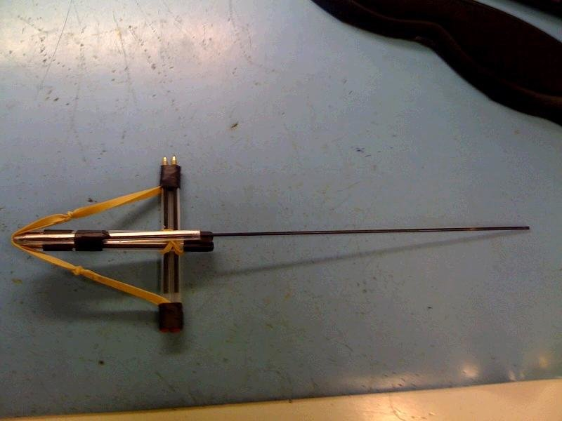 crossbow - how to make a pencil crossbow