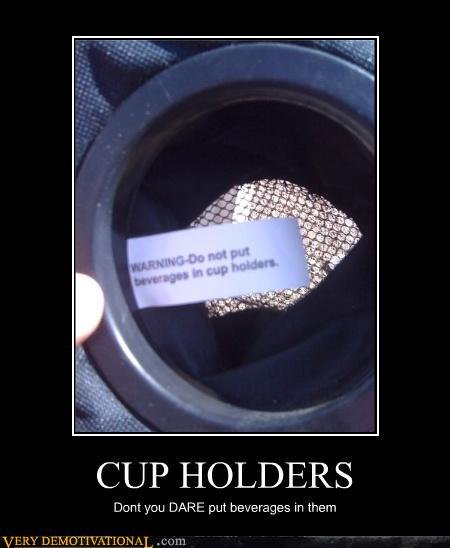 cupholder - funnies!