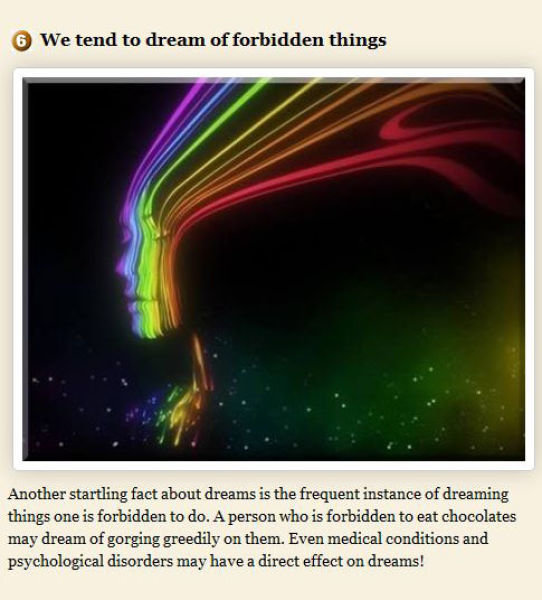 curious things dreams part