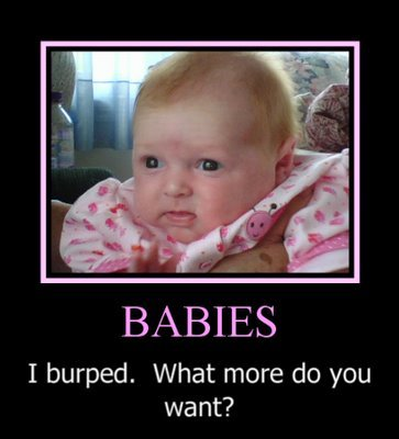 cute baby motivational poster
