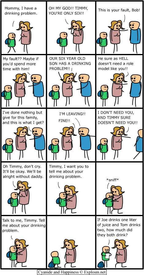 cyan - cyanide and happiness overload!!!
