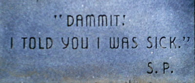 damnititoldyou - funny tombstones
