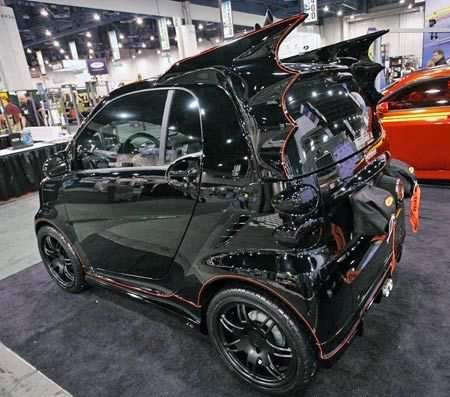 dark knight smart car