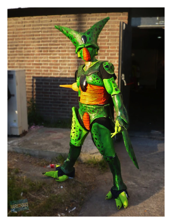 dbz cosplay cell