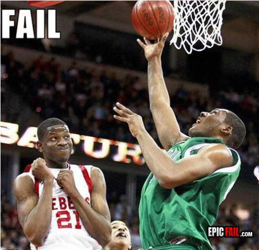 defense fail basketball fruity